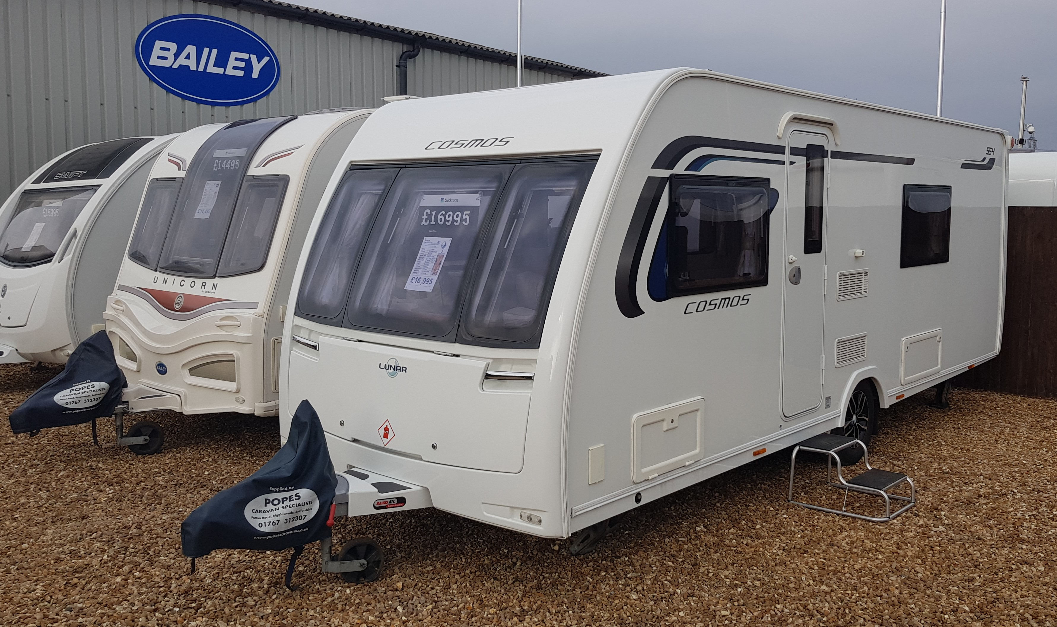 Used Caravans For Sale   Popes Caravans